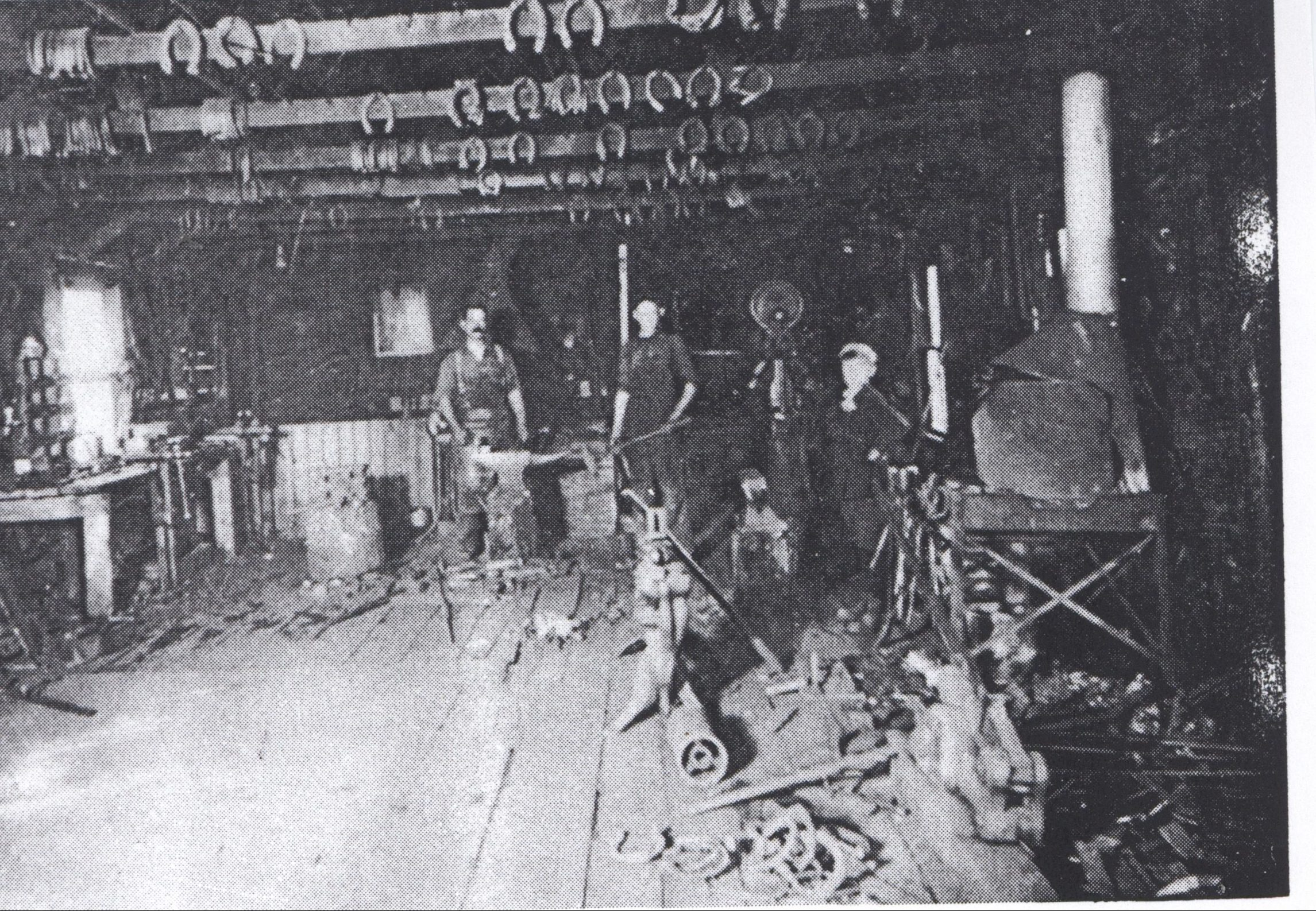 Lacombe Blacksmith Shop